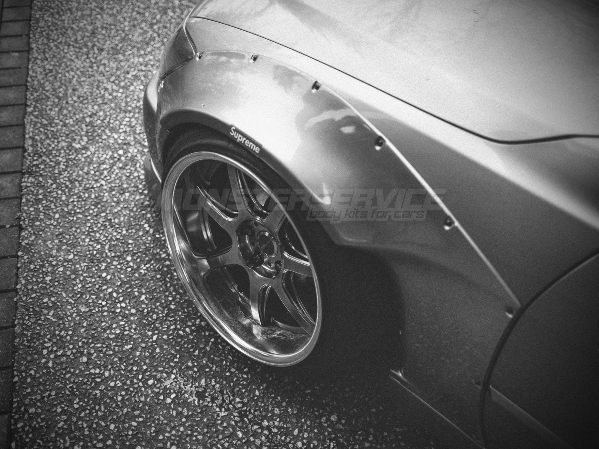 Front Fender Flares 40mm For Lexus Is200 300 Monsterservice
