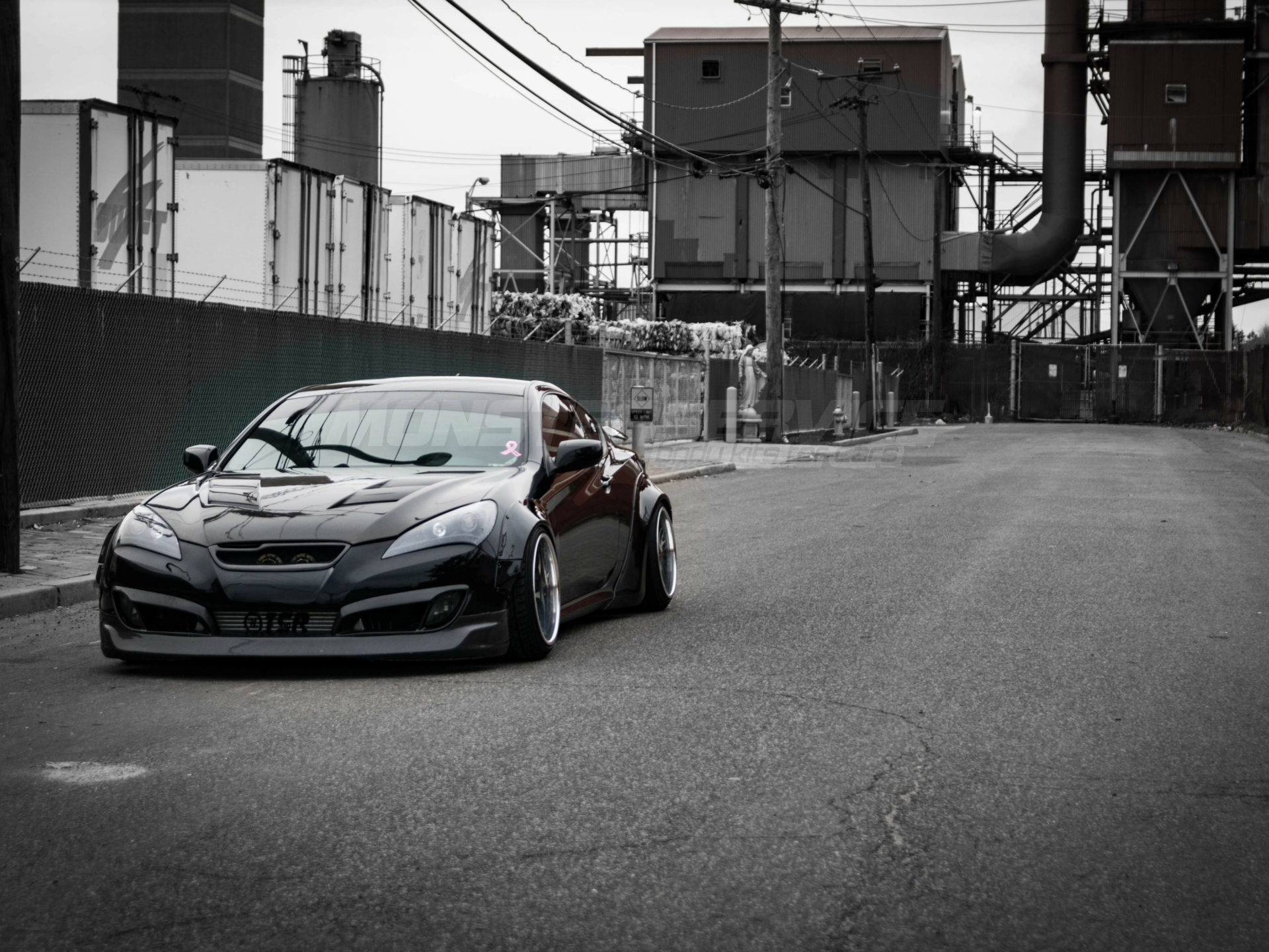 Widebody kit V 2 for Hyundai Genesis Coupe