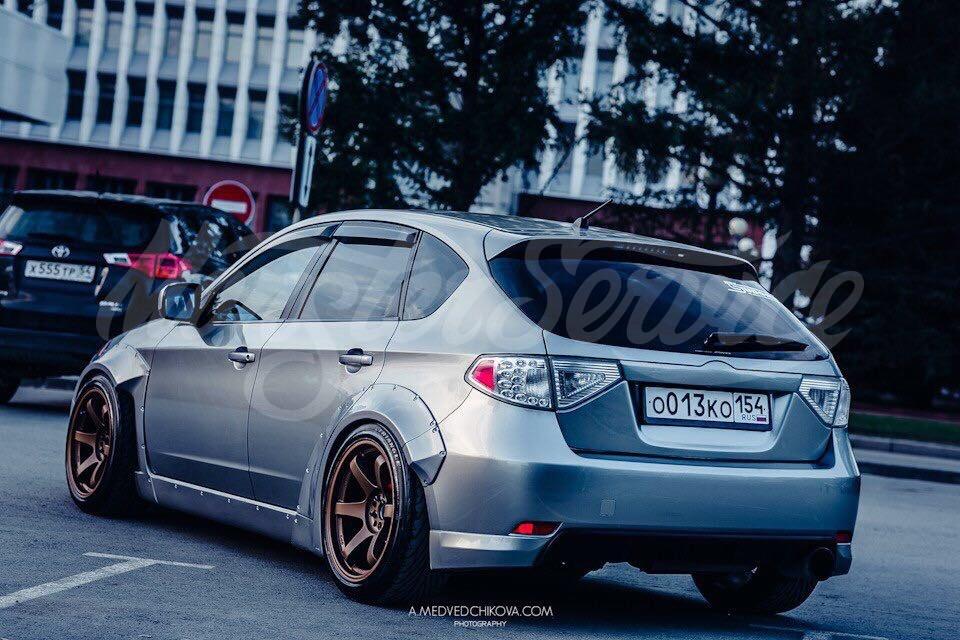 Used Subaru Impreza Hatchback >> Full bodykit for Subaru Impreza WRX GH - MonsterService