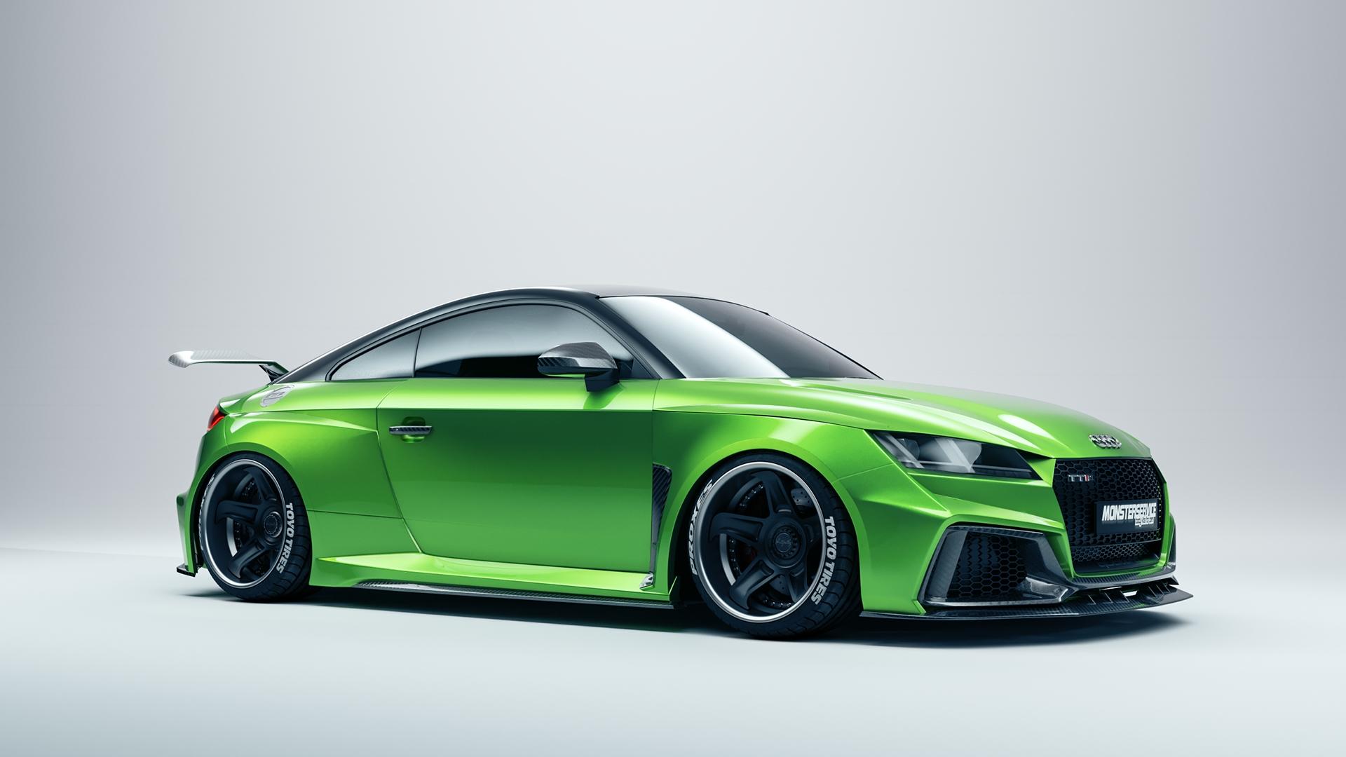 New wide bodykit! Audi TT | Monsterservice